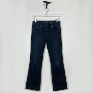 Level 99 Petite Ruelette Wash Boot Cut Jeans